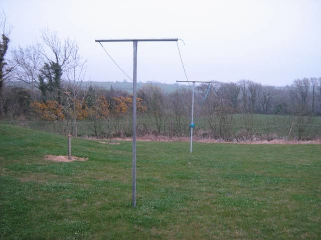 clothes line poles